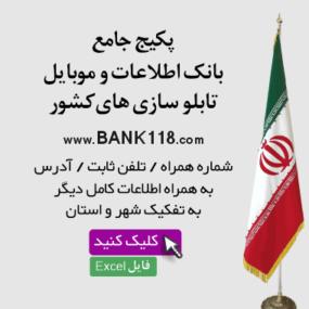بانک اطلاعات تابلوسازی های کشور